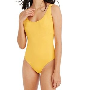 MADEWELL Second Wave One-Piece Tank Swimsuit